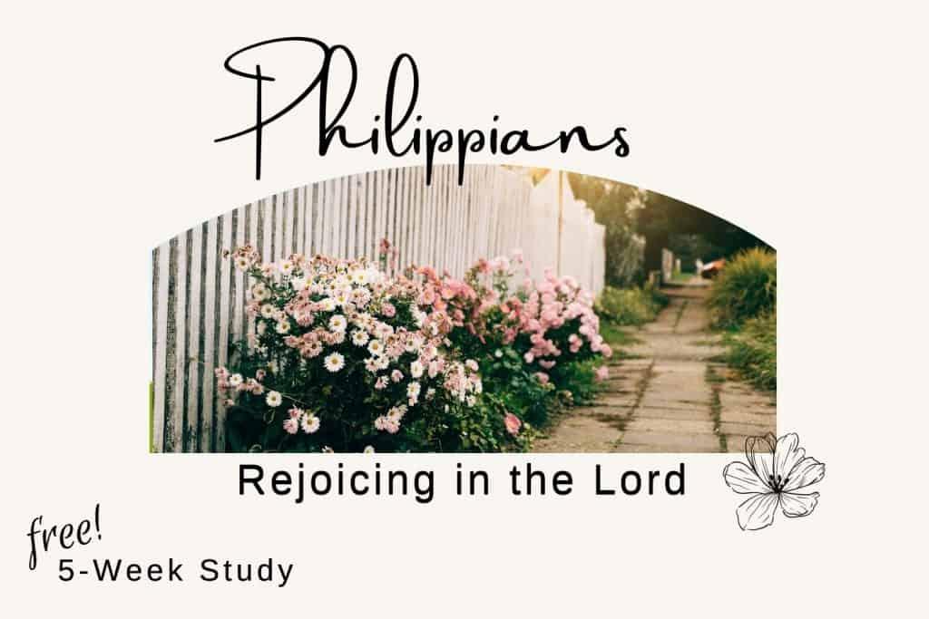 fence flowering bushes Philippians Bible study