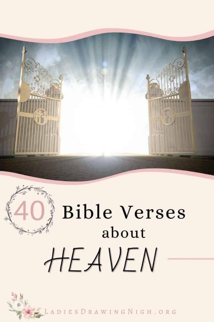 gates of Heaven open wide